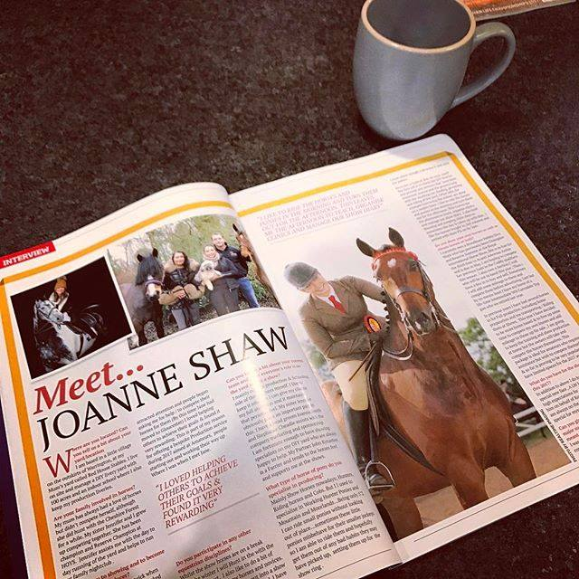 Monthly coloumn in Equestrian Life Magazine