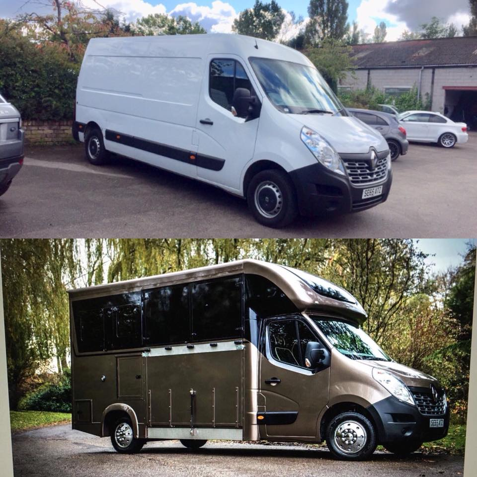 The First Redshaw Horsebox