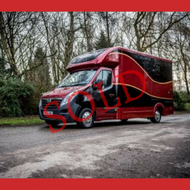 The Second Redshaw Horsebox 3.5t
